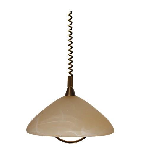 Klassieke hanglamp trekpendel ogiva straluma for Klassieke hanglamp