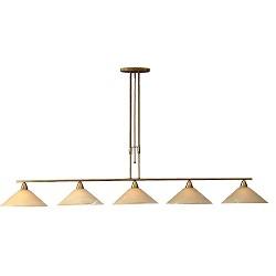 ** Klassieke hanglamp Ogiva eettafel