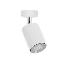 *Moderne witte plafondspot verstelbaar