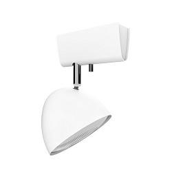 *Witte opbouwspot verstelbaar 1-lichts