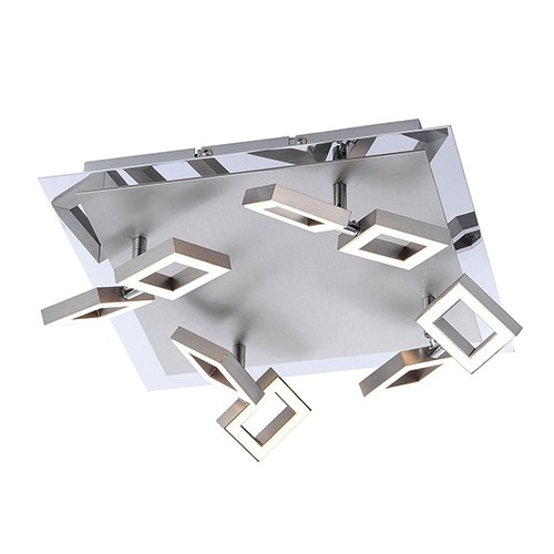 Beschrijving Plafondlamp spot design LED verstelbaar