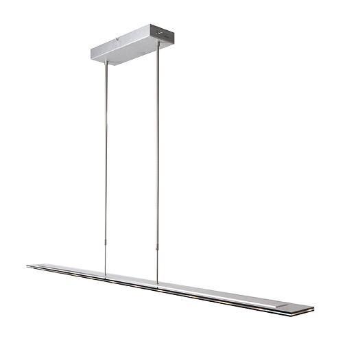 Moderne hanglamp LED staal eettafel   Straluma