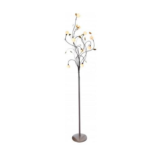 Klassieke vloerlamp viridiflora brons straluma - Klassieke vloerlamp ...