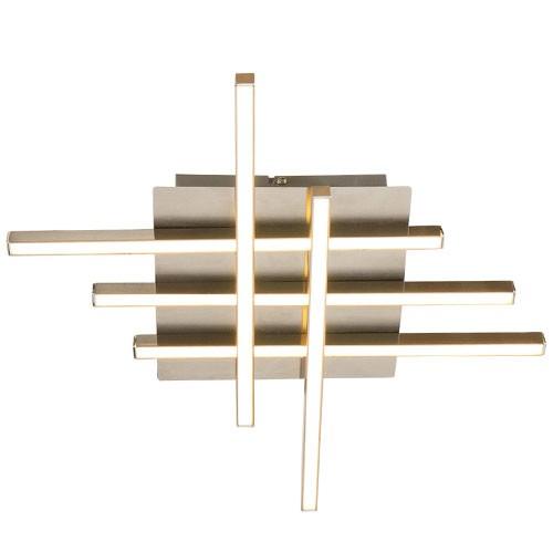 Moderne plafondlamp deco led keuken hal straluma - Deco entreehal ...