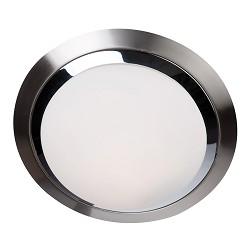 Badkamerlamp rond chroom nikkel 6755ST