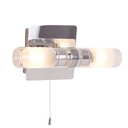 **Badkamer wandlamp Vikareus schakelaar