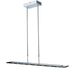 *Moderne hanglamp Led eettafel staal/gl
