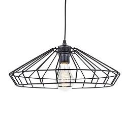 Zwarte hanglamp draad keuken, slaapkamer