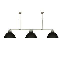 **Grote XL industriele hanglamp 3 kappen