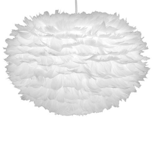 Lamp Slaapkamer Wit : Trendy hanglamp ganzenveren slaapkamer Straluma