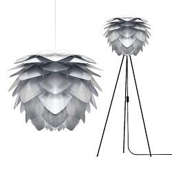 Trendy hanglamp steel Silvia keuken/hal
