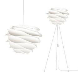 Scandinavische hanglamp Carmina wit