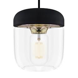 Vita Acorn hanglamp woonkamer zwartbrons