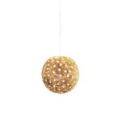 Romantisch hanglamp bol creme 40 cm