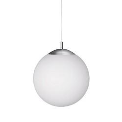 Hanglamp pendel glasbol wit, keuken-hal
