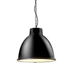 *Stoere industriele hanglamp zw. keuken