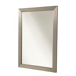 Moderne stalen wand spiegel 90 x 60