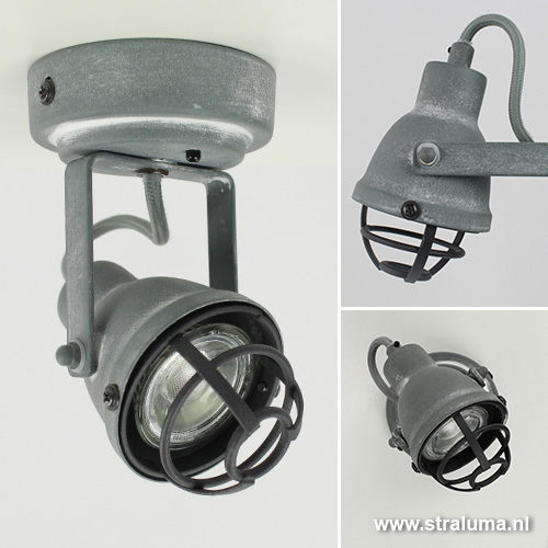 Spot industrieel led verlichting watt for Spots industriele look