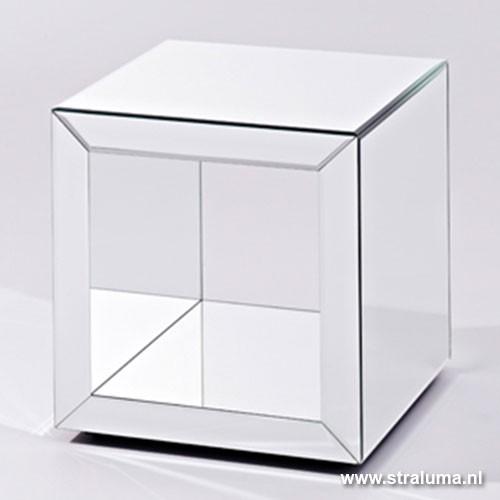 bijzettafel spiegel woonslaapkamer straluma