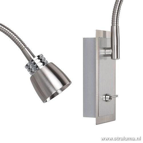 Verstelbare wandlamp LED slaapkamer  Straluma