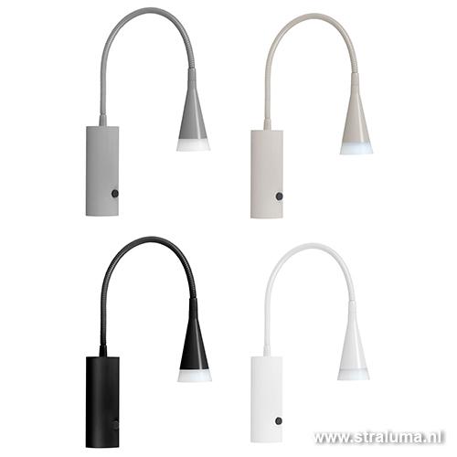 LED leeslamp wand slaapkamer-kantoor  Straluma
