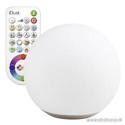 LED bol Dahlia kleuren-afstandsbediening
