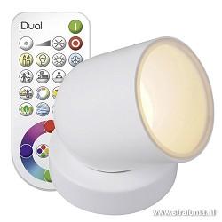 Idual tafellamp Tulip met kleuren-remote