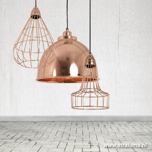 Hanglamp koper trendy gang bindi straluma - Trendy gang ...