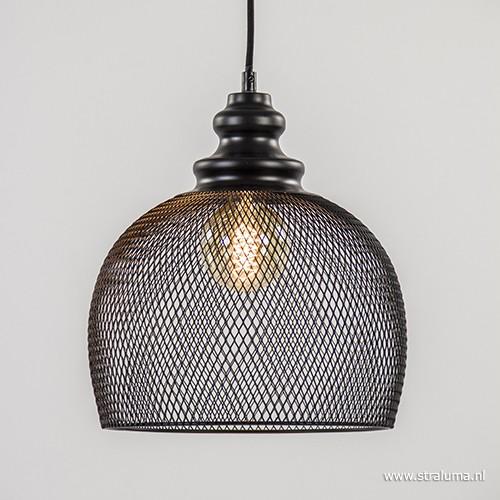 gaas hanglamp karleen zwart slaapkamer  straluma, Meubels Ideeën