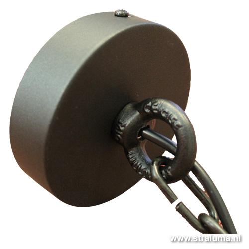 Industriele Hanglamp Keuken : Industri?le hanglamp offwhite keuken Straluma
