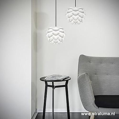 Trendy hanglamp silvia wit mini hal gang straluma - Trendy gang ...