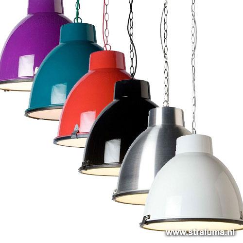 Industriele Hanglamp Keuken : Stoere industriele hanglamp zwart keuken Straluma