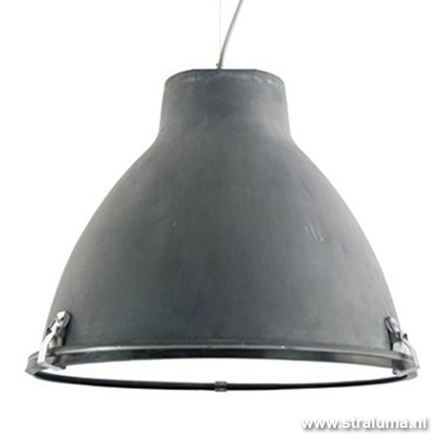 Industriele hanglamp beton, eetkamer  Straluma