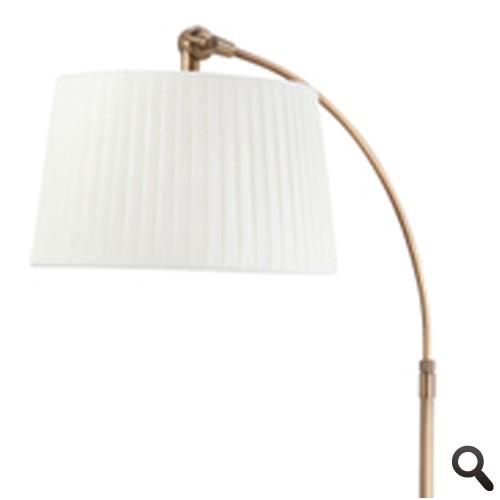 Klassieke vloerlamp brons dimbaar straluma - Klassieke vloerlamp ...